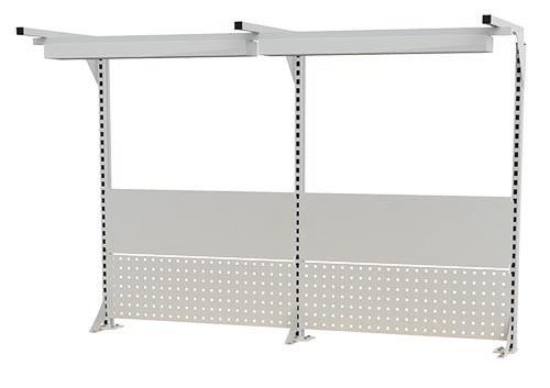 Multi-Wand-Aufbau für Werkbänke B 2000 x T 750 x H 859/959 mm