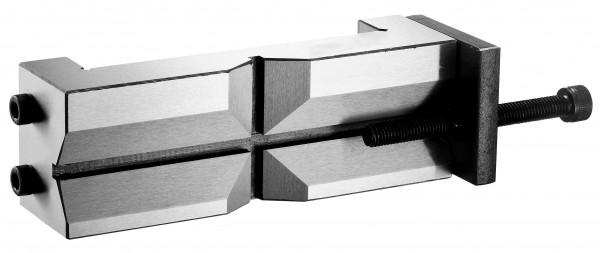 Prismenbacke mit Werkstückanschlag 125-140 mm
