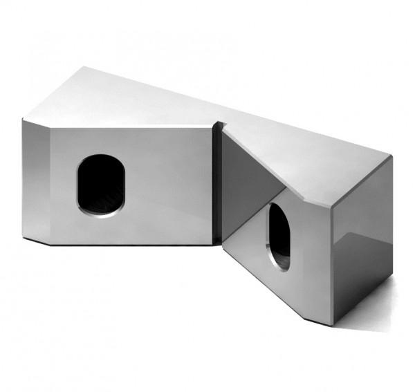 Koordinaten-Prismenbacke für Schraubstock Typ MC2