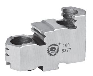 Harte Aufsatzbacken für Dreibacken-Drehfutter Ø 250 mm
