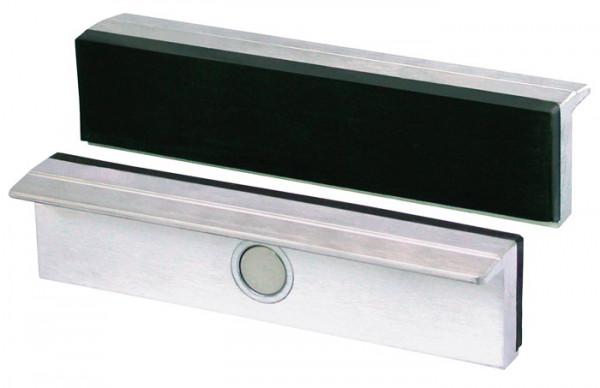 Schraubstock Ersatzbacken mit Gummibelag 160 mm