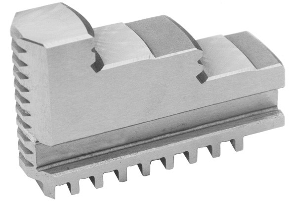 Solid jaws for three-jaw lathe chucks Ø 80 mm