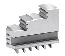Harte Drehbacken für Vierbacken-Drehfutter Ø 160 mm