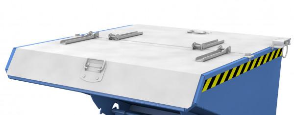 Verzinkter Deckel für Mini-Kippbehälter Typ EXPO 225