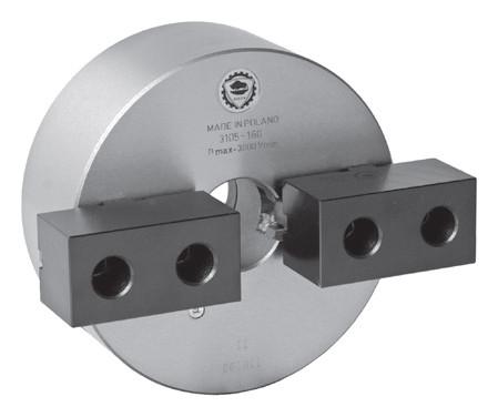 Zweibacken-Drehfutter DIN 6350 Typ 3105-400