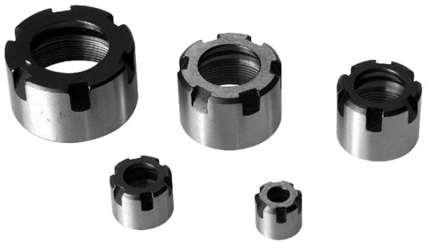 Clamping nuts ER Mini