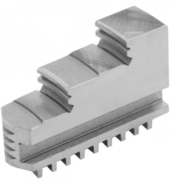 Solid jaws for four-jaw lathe chucks Ø 125 mm