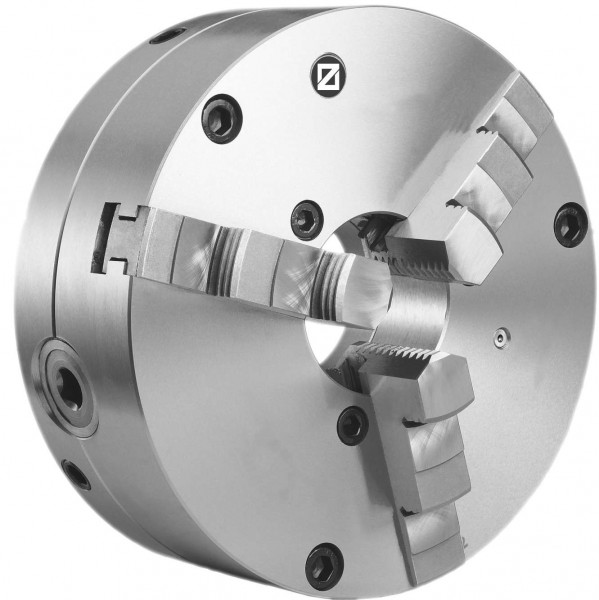 Dreibacken-Drehfutter mit Feineinstellung Ø 125 mm