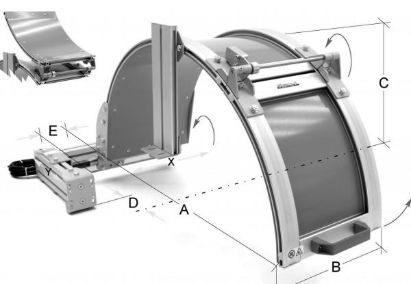 Futterschutzeinrichtung für Futter Ø 1000 mm