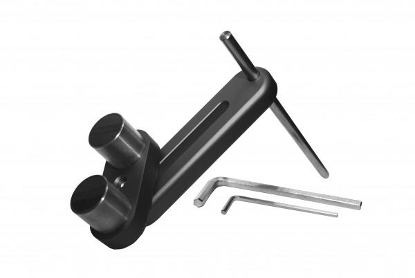 Universal-Werkstückanschlag mit Magnet