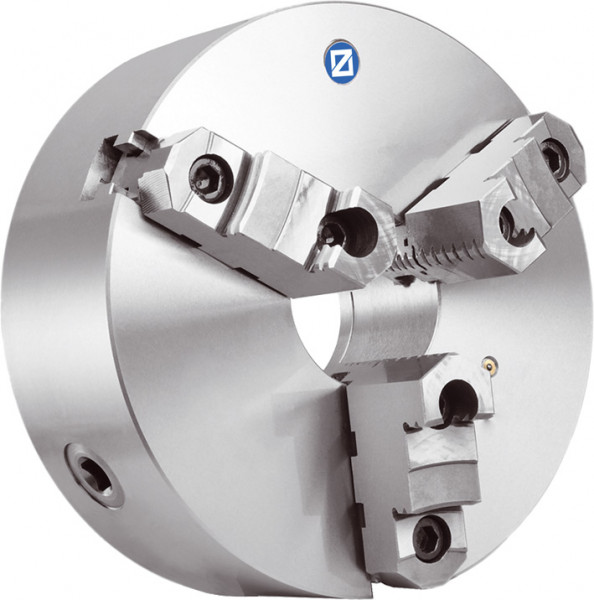Dreibacken-Drehfutter DIN 55029 Ø 125 mm, KK 4