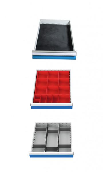 Einteilungssortiment für 3 Schubladen T 736 R 18-24