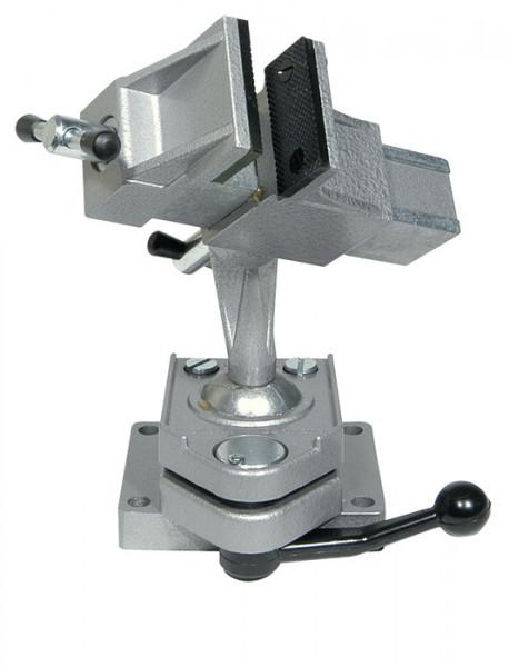Feinmechanikerschraubstock mit Kugelgelenk, 80 mm