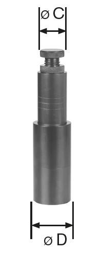 Schraubbock Bereich 90 - 140 mm