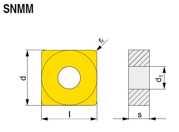 Wendeschneidplatte SNMM 250724E-NR2 T7335