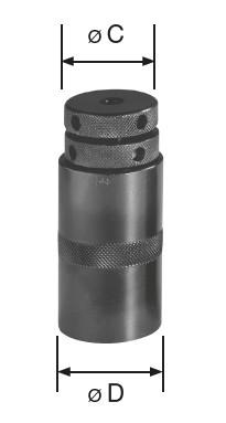 Schraubbock magnetisch, Bereich 86 - 116 mm
