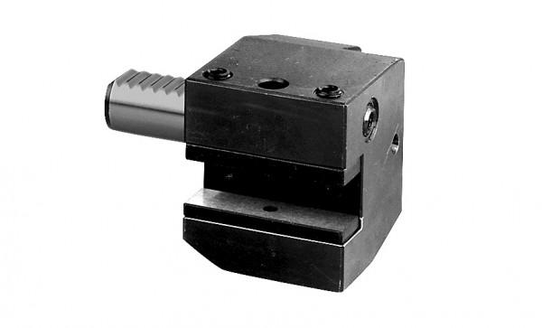 Typ C2, Axial-Werkzeughalter, links
