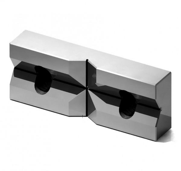 Prismenbacke für Schraubstock Typ MC2